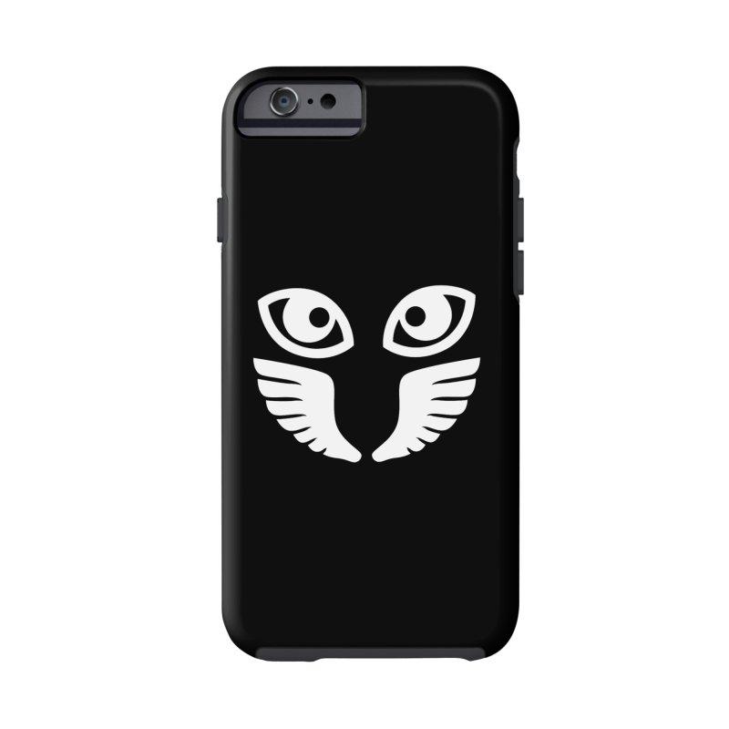 WHITE OCCHIALI - CLEAR OPTICS Accessories Phone Case by Piccolo Cafe