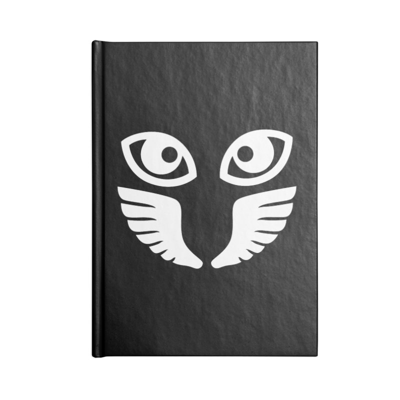 WHITE OCCHIALI - CLEAR OPTICS Accessories Notebook by Piccolo Cafe