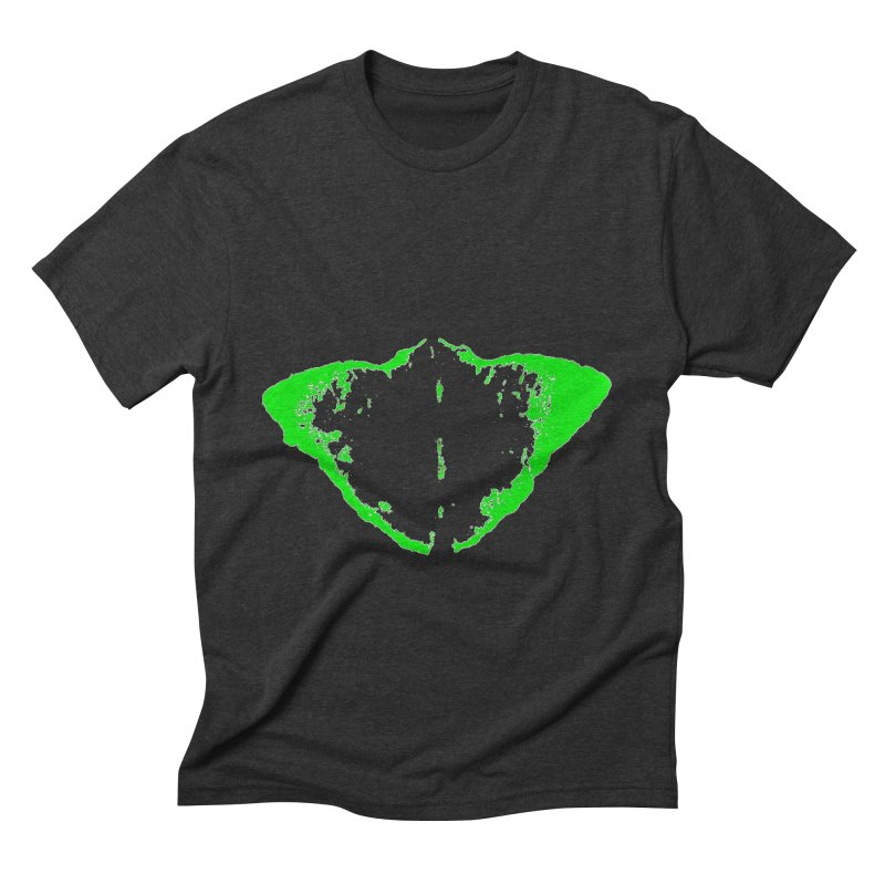 JEAN GREEN MANTHA  Men's Triblend T-shirt by Piccolo Cafe