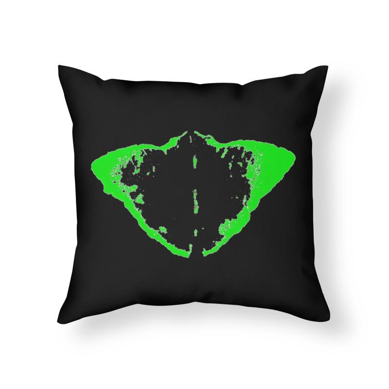 JEAN GREEN MANTHA  Home Throw Pillow by Piccolo Cafe