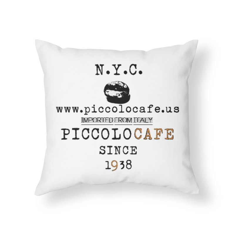 Piccolo Original Home Throw Pillow by Piccolo Cafe