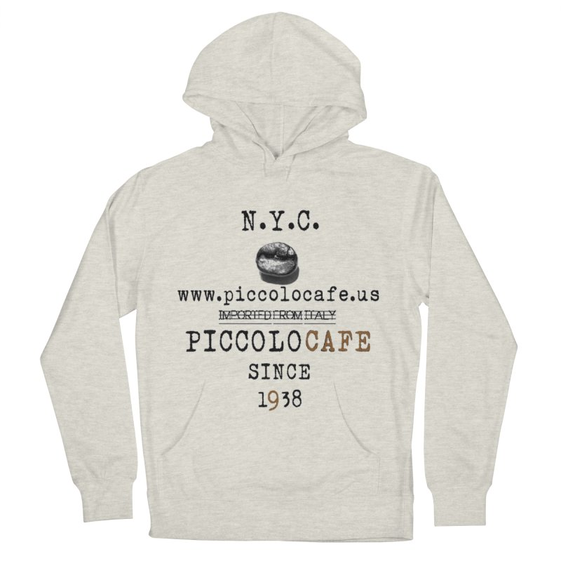Piccolo  Men's French Terry Pullover Hoody by Piccolo Cafe