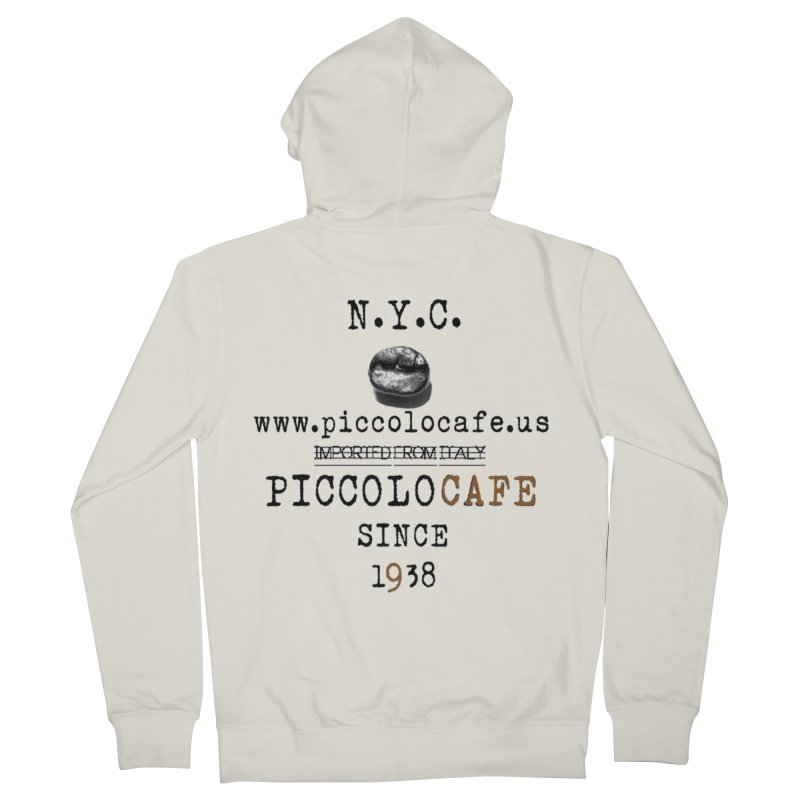 Piccolo  Men's French Terry Zip-Up Hoody by Piccolo Cafe