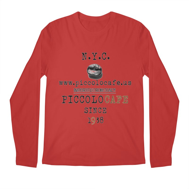 Piccolo  Men's Regular Longsleeve T-Shirt by Piccolo Cafe