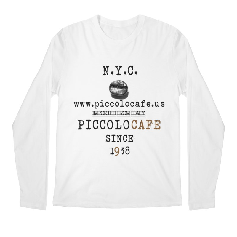 Piccolo  Men's Longsleeve T-Shirt by Piccolo Cafe