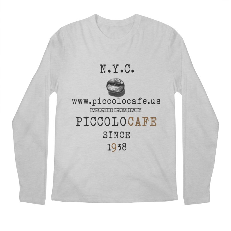 Piccolo  Men's Regular Longsleeve T-Shirt by Piccolo Cafe