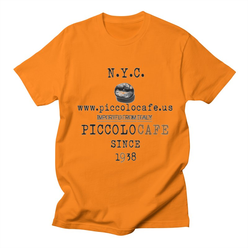Piccolo  Men's Regular T-Shirt by Piccolo Cafe
