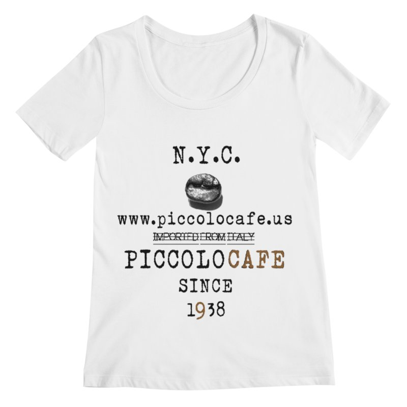 Piccolo  Women's Regular Scoop Neck by Piccolo Cafe