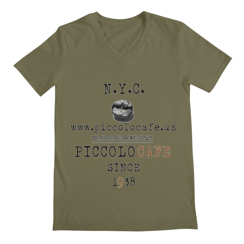 Piccolo  Men's V-Neck by Piccolo Cafe
