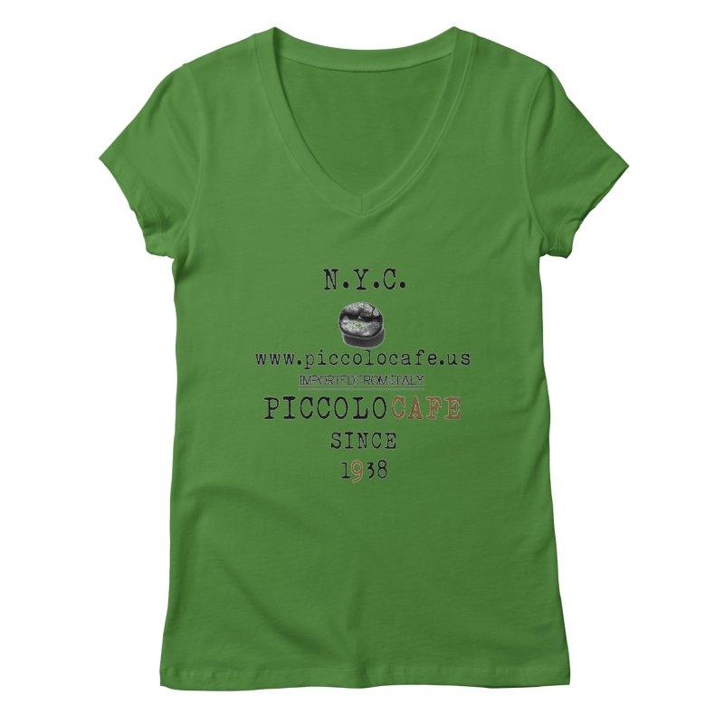 Piccolo  Women's V-Neck by Piccolo Cafe