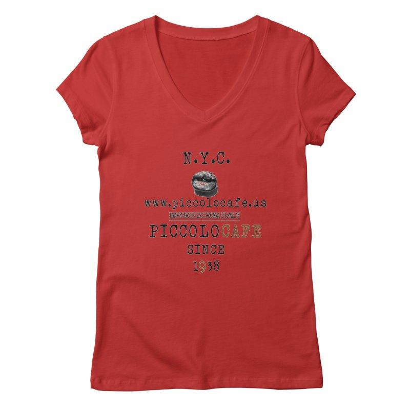 Piccolo  Women's Regular V-Neck by Piccolo Cafe