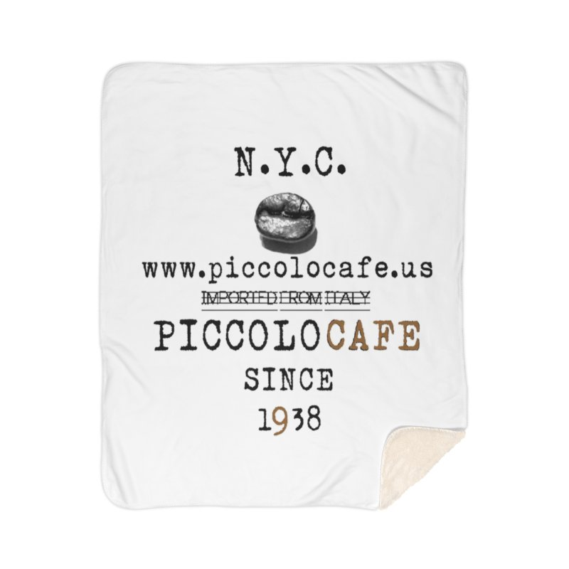 Piccolo  Home Sherpa Blanket Blanket by Piccolo Cafe