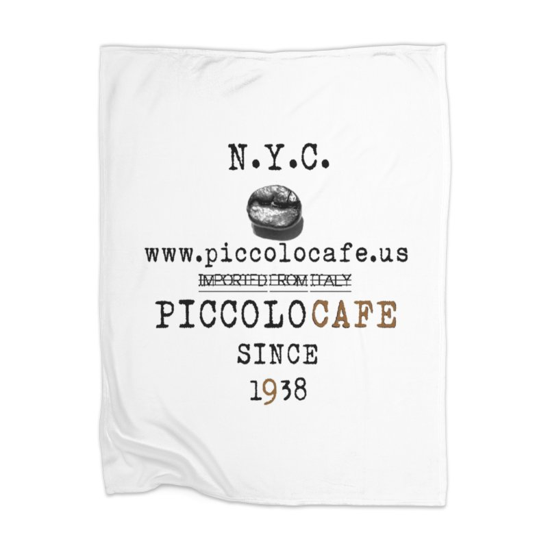Piccolo  Home Blanket by Piccolo Cafe