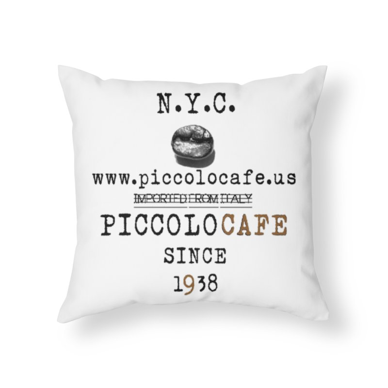 Piccolo  Home Throw Pillow by Piccolo Cafe