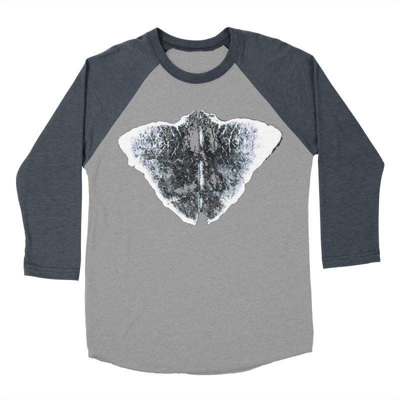 Mantha Men's Baseball Triblend T-Shirt by Piccolo Cafe