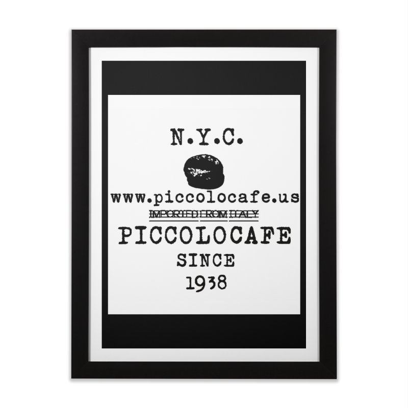 WHITELOGO Home Framed Fine Art Print by Piccolo Cafe