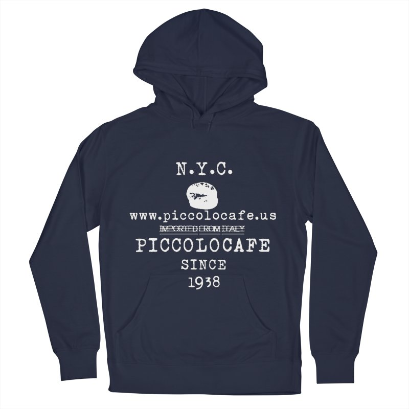 WHITELOGO Men's Pullover Hoody by Piccolo Cafe