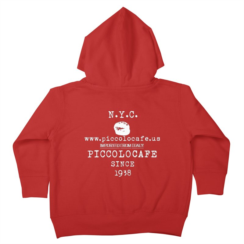 WHITELOGO Kids Toddler Zip-Up Hoody by Piccolo Cafe
