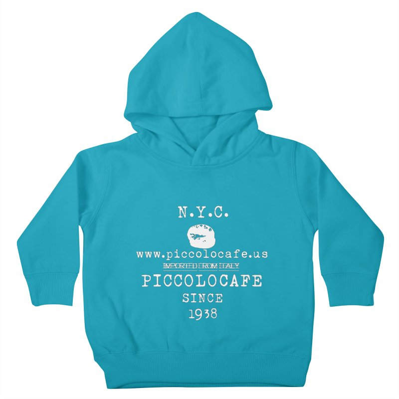 WHITELOGO Kids Toddler Pullover Hoody by Piccolo Cafe