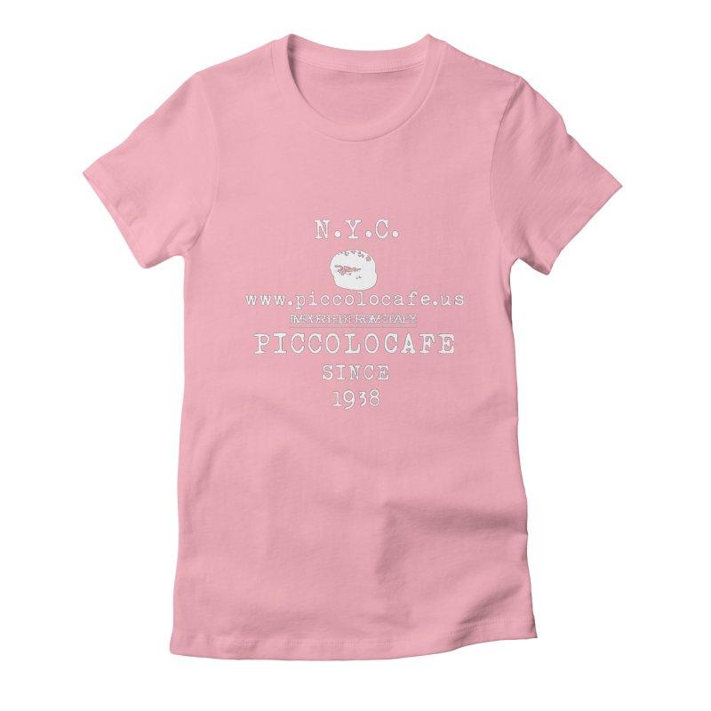 WHITELOGO Women's T-Shirt by Piccolo Cafe