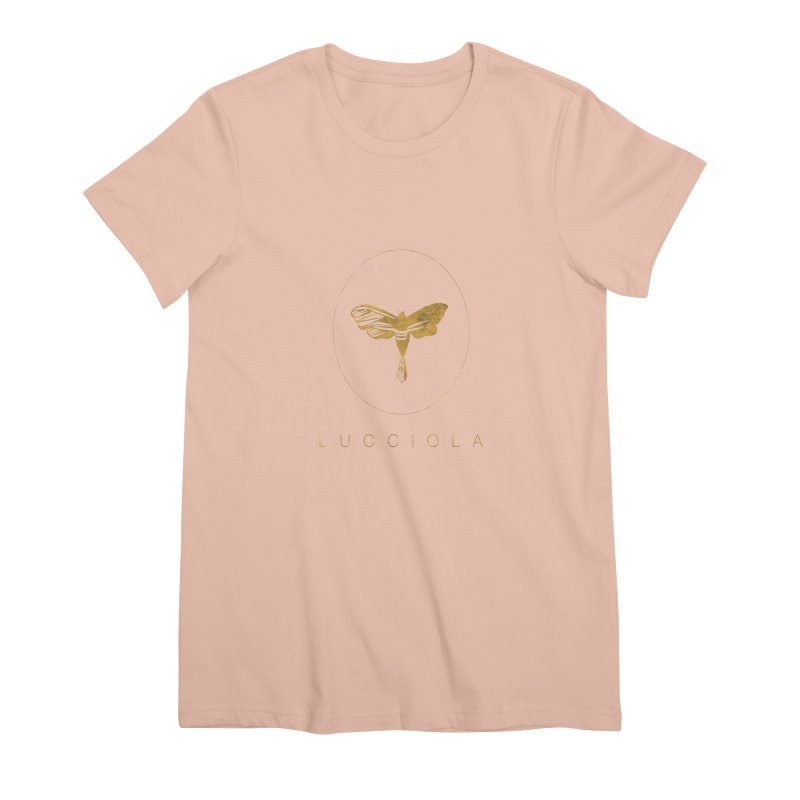 LUCCIOLA APPAREL Women's Premium T-Shirt by Piccolo Cafe