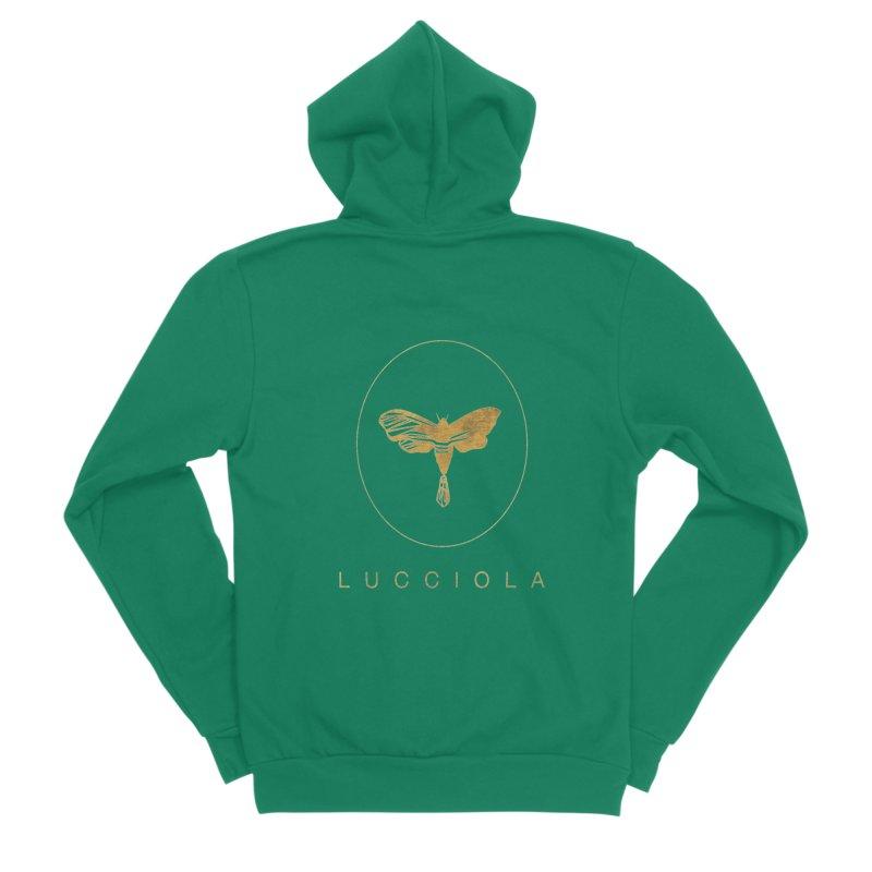 LUCCIOLA APPAREL Women's Sponge Fleece Zip-Up Hoody by Piccolo Cafe