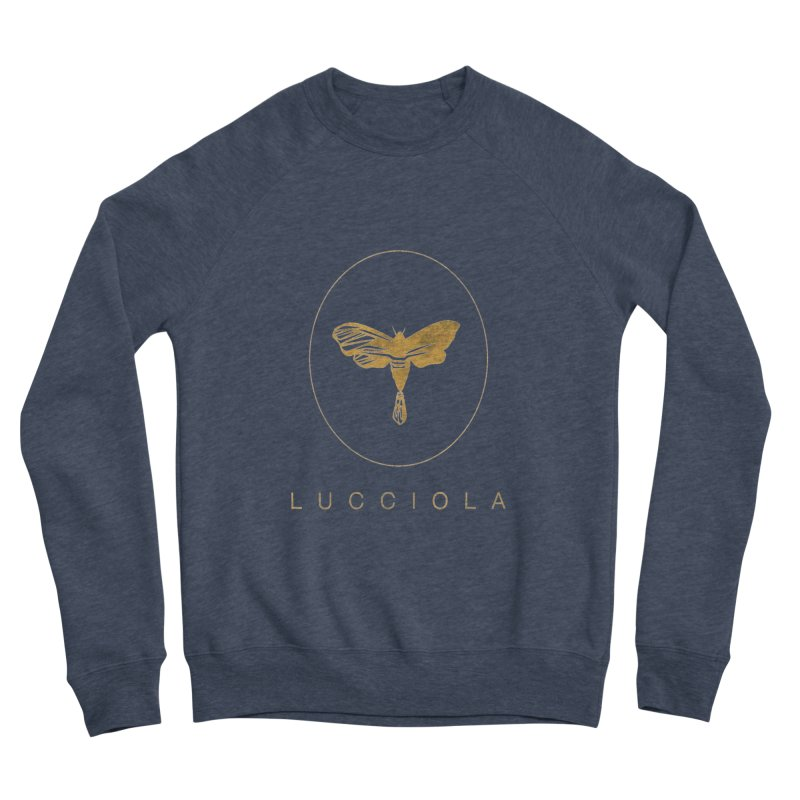LUCCIOLA APPAREL Men's Sponge Fleece Sweatshirt by Piccolo Cafe