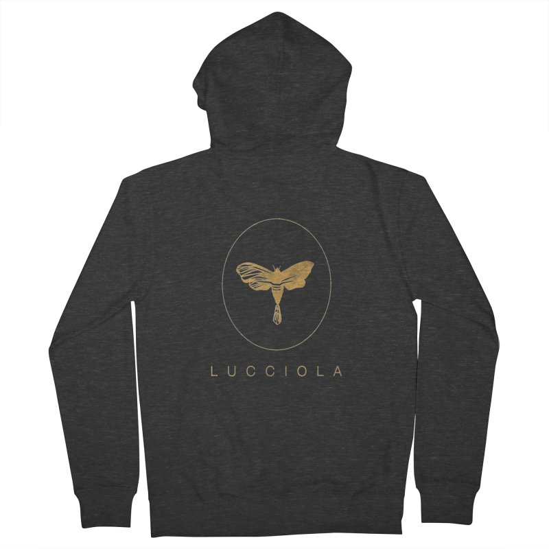 LUCCIOLA APPAREL Men's French Terry Zip-Up Hoody by Piccolo Cafe