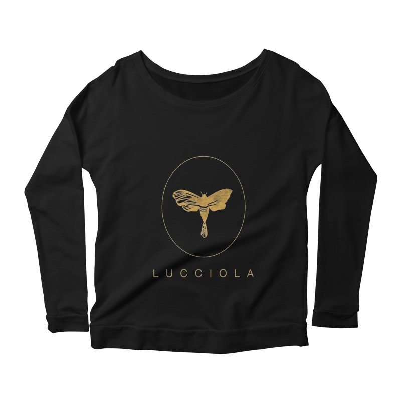 LUCCIOLA APPAREL Women's Scoop Neck Longsleeve T-Shirt by Piccolo Cafe