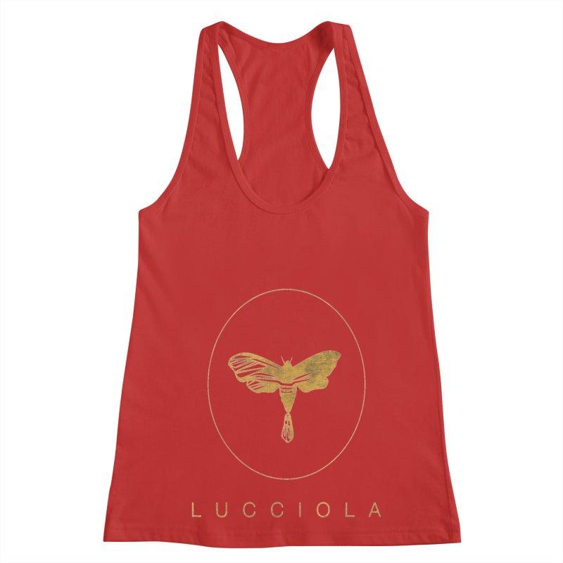 LUCCIOLA APPAREL Women's Racerback Tank by Piccolo Cafe