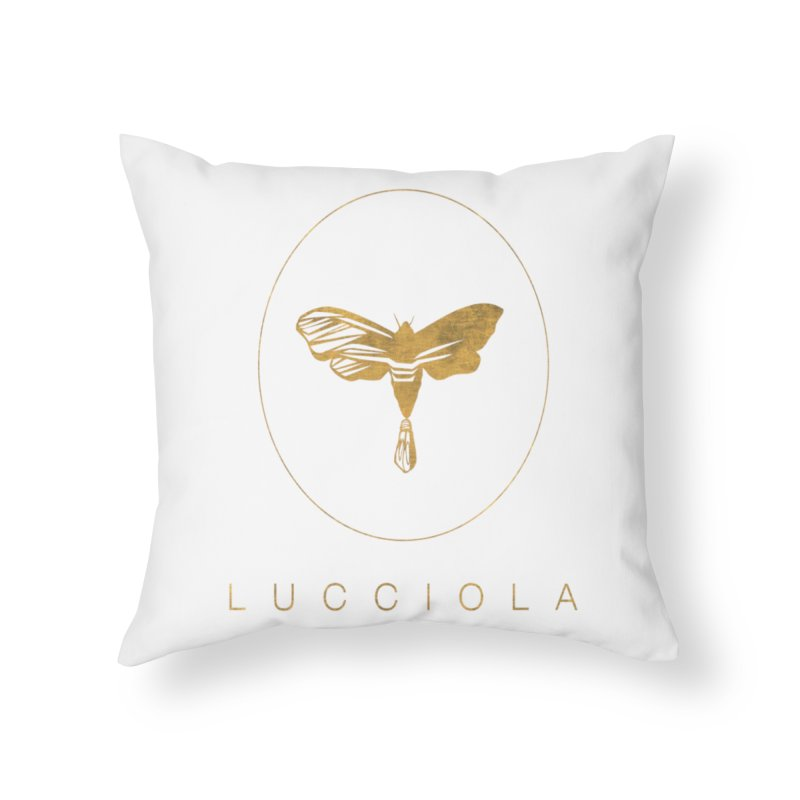 LUCCIOLA APPAREL Home Throw Pillow by Piccolo Cafe