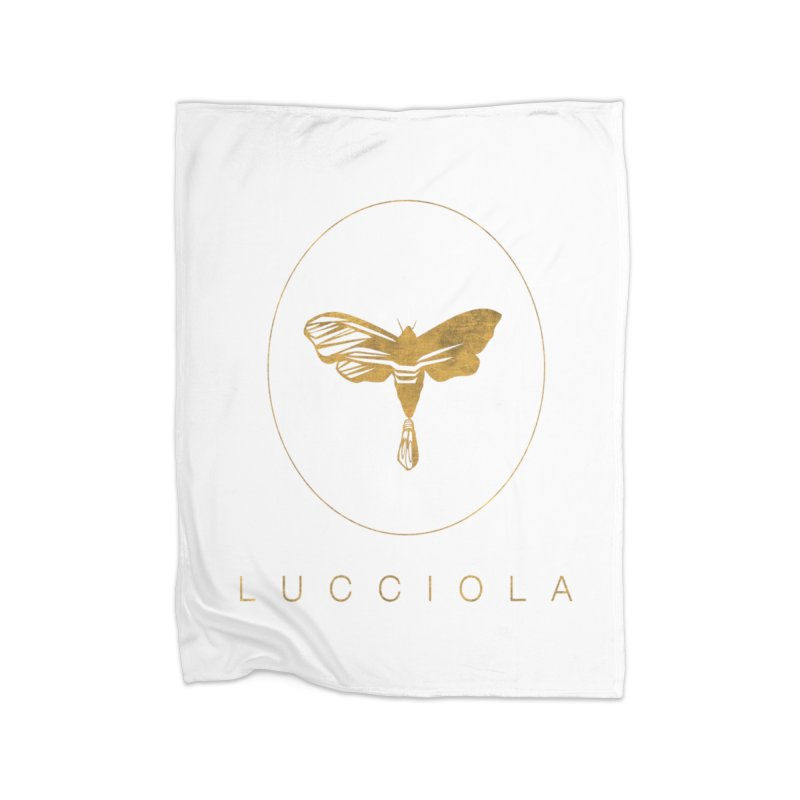 LUCCIOLA APPAREL Home Blanket by Piccolo Cafe