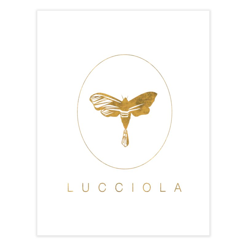 LUCCIOLA APPAREL Home Fine Art Print by Piccolo Cafe