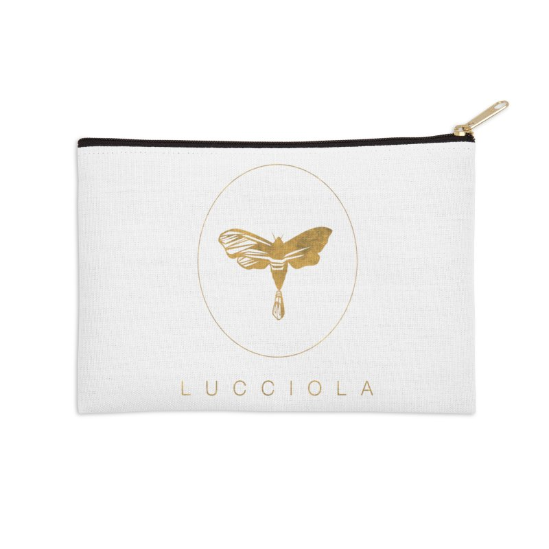 LUCCIOLA APPAREL Accessories Zip Pouch by Piccolo Cafe