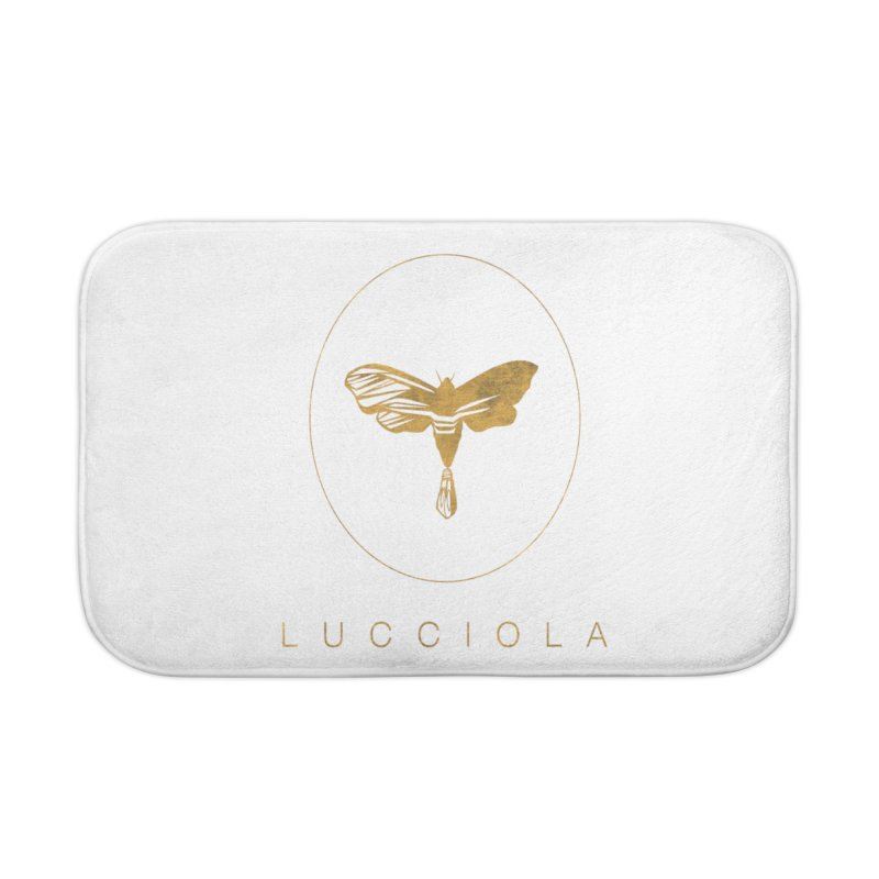 LUCCIOLA APPAREL Home Bath Mat by Piccolo Cafe
