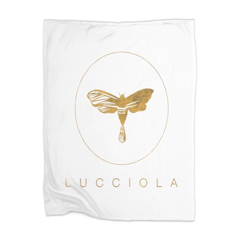 LUCCIOLA APPAREL Home Blanket by Piccolo Cafe