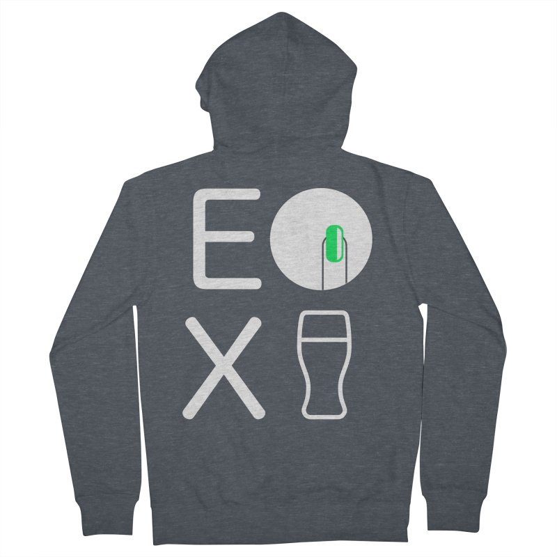 EX YOGINI Men's Zip-Up Hoody by Piccolo Cafe
