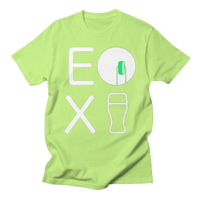 EX YOGINI Men's T-shirt by Piccolo Cafe