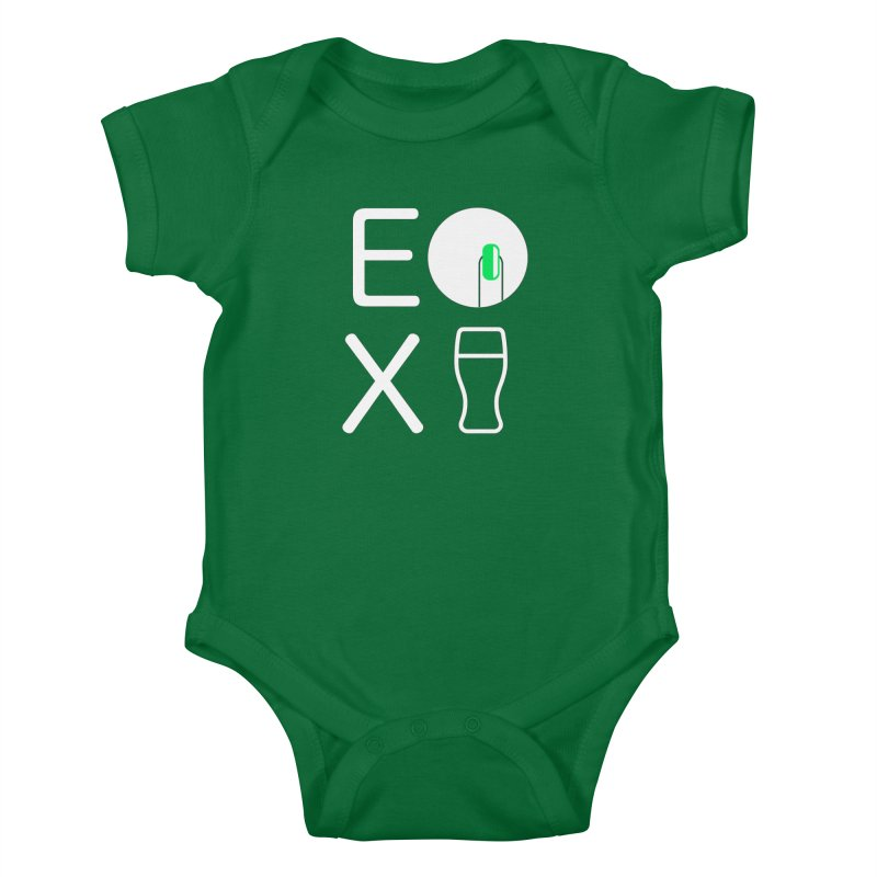 EX YOGINI Kids Baby Bodysuit by Piccolo Cafe