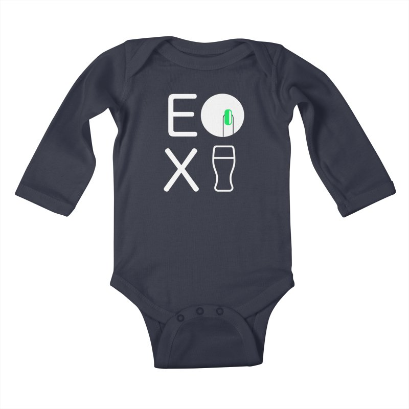 EX YOGINI Kids Baby Longsleeve Bodysuit by Piccolo Cafe