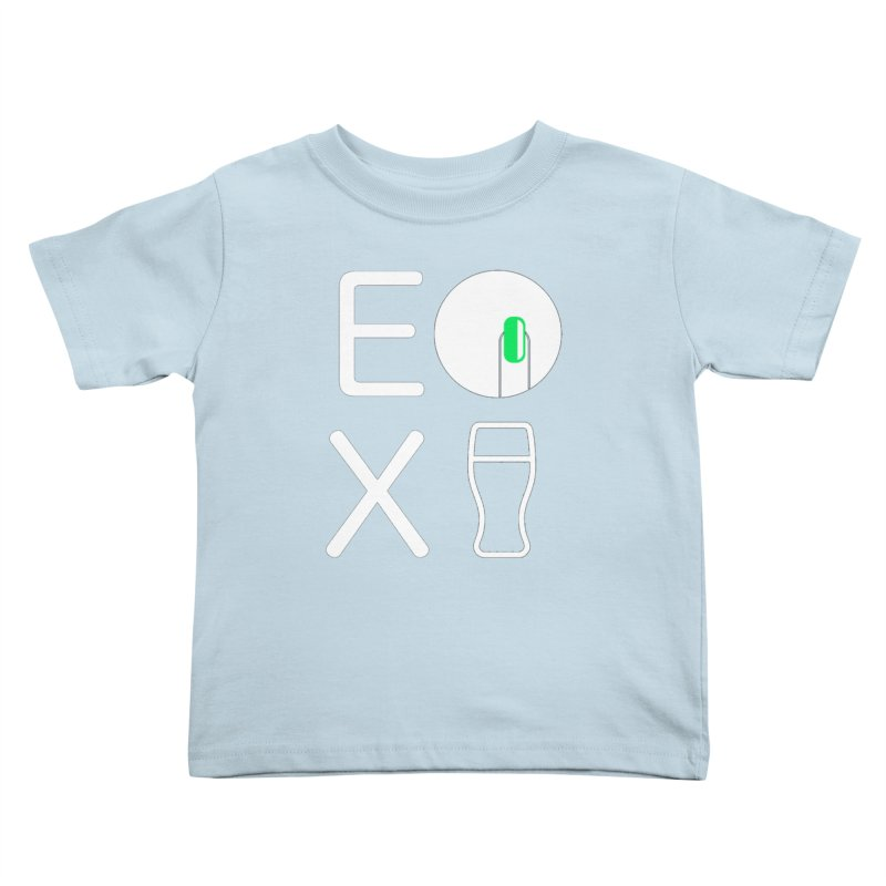EX YOGINI Kids Toddler T-Shirt by Piccolo Cafe