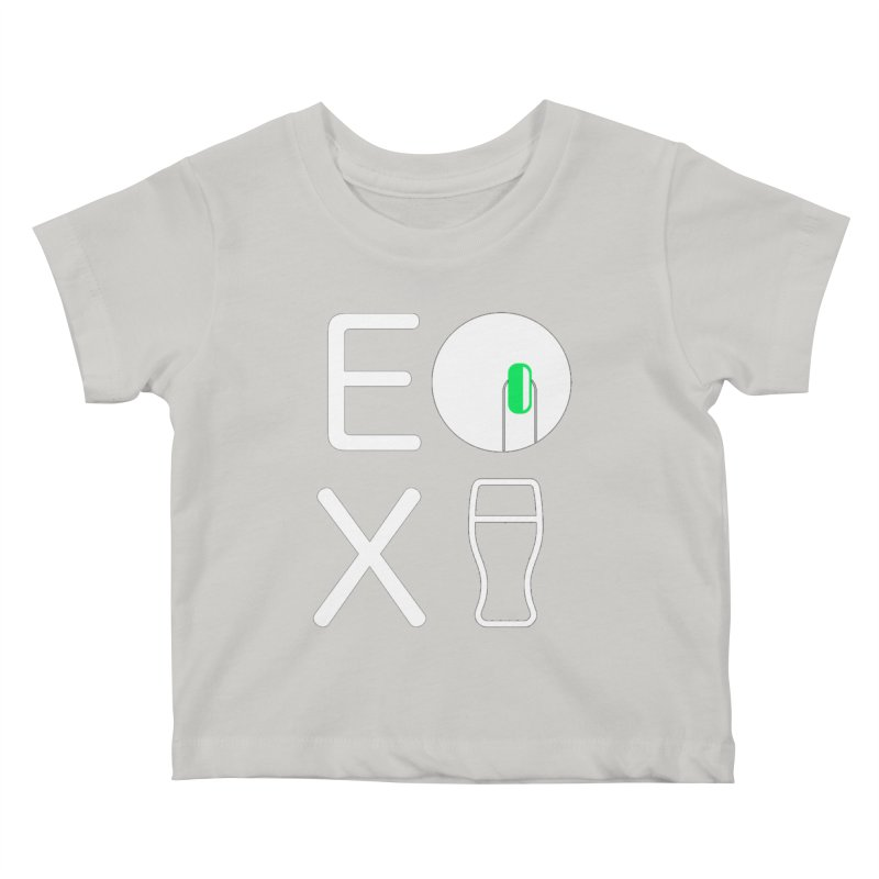 EX YOGINI Kids Baby T-Shirt by Piccolo Cafe