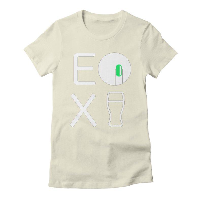 EX YOGINI Women's T-Shirt by Piccolo Cafe