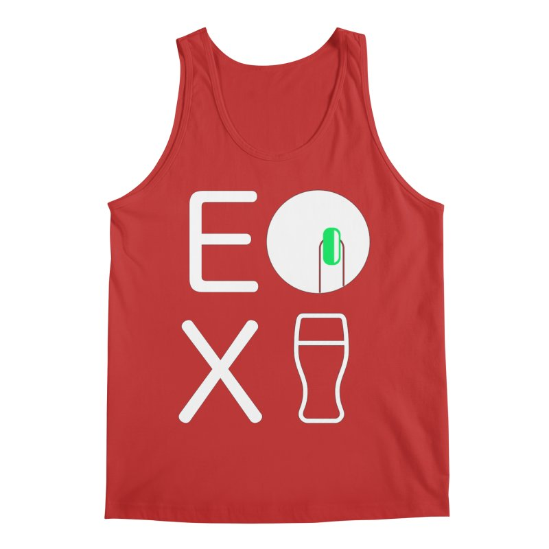EX YOGINI Men's Regular Tank by Piccolo Cafe