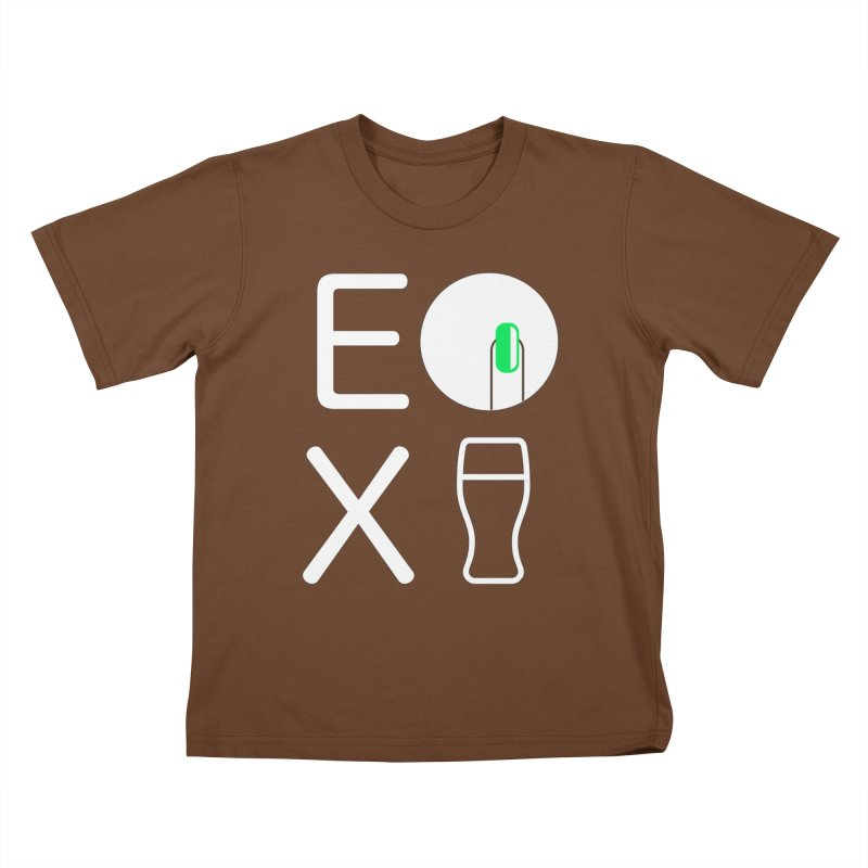 EX YOGINI Kids T-Shirt by Piccolo Cafe