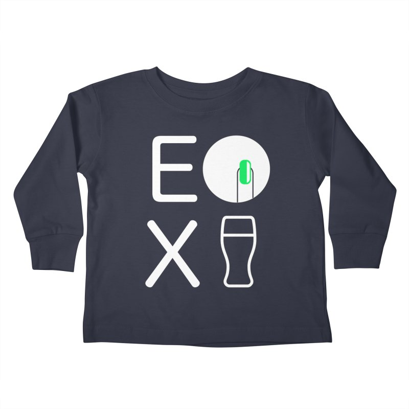 EX YOGINI Kids Toddler Longsleeve T-Shirt by Piccolo Cafe