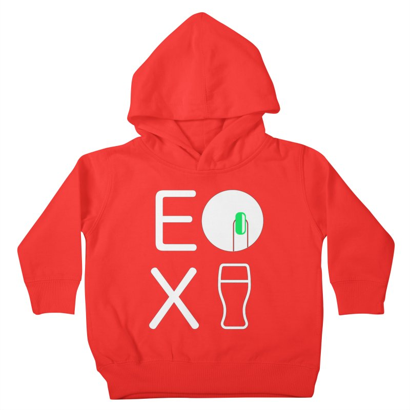 EX YOGINI Kids Toddler Pullover Hoody by Piccolo Cafe