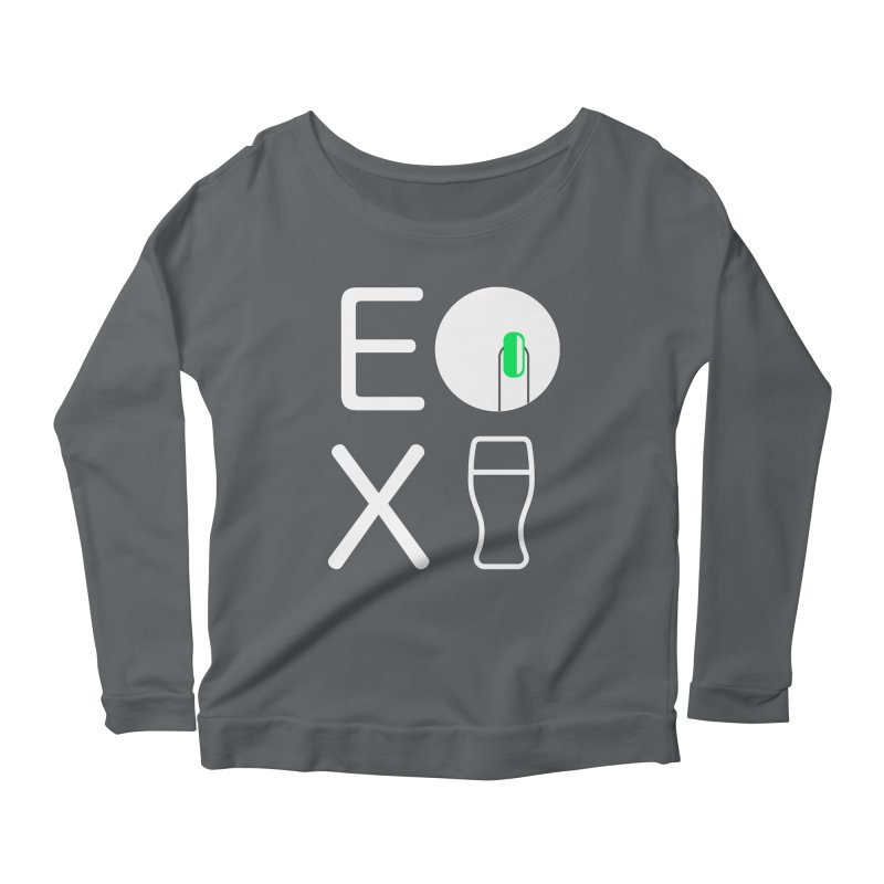 EX YOGINI Women's Scoop Neck Longsleeve T-Shirt by Piccolo Cafe