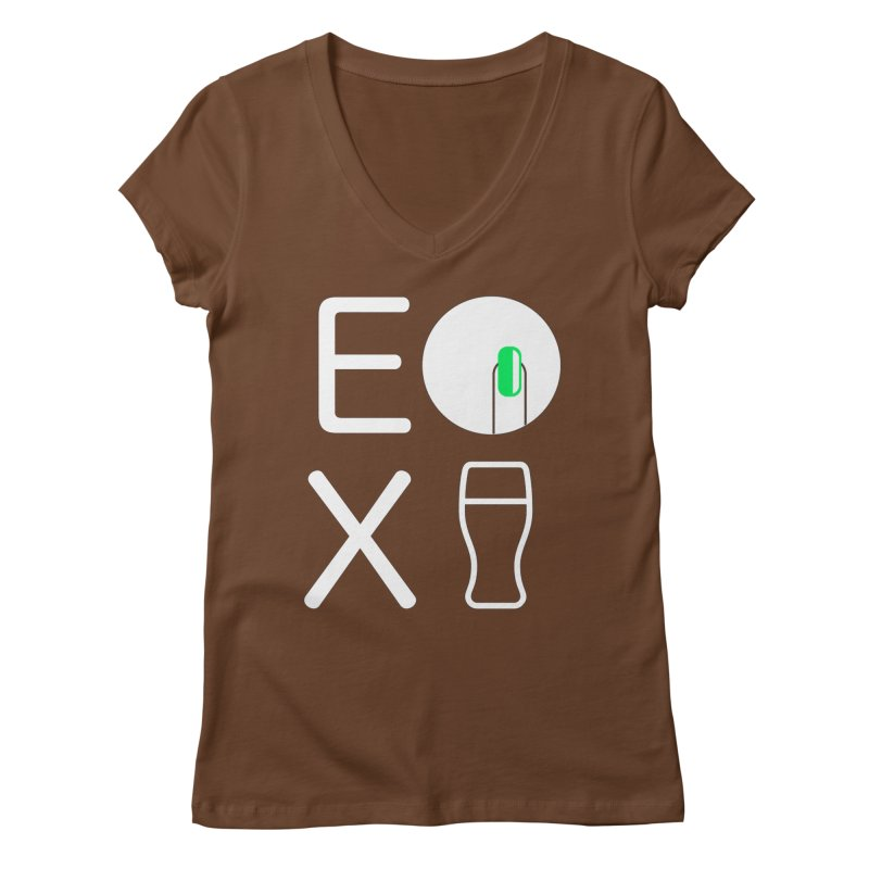 EX YOGINI Women's V-Neck by Piccolo Cafe