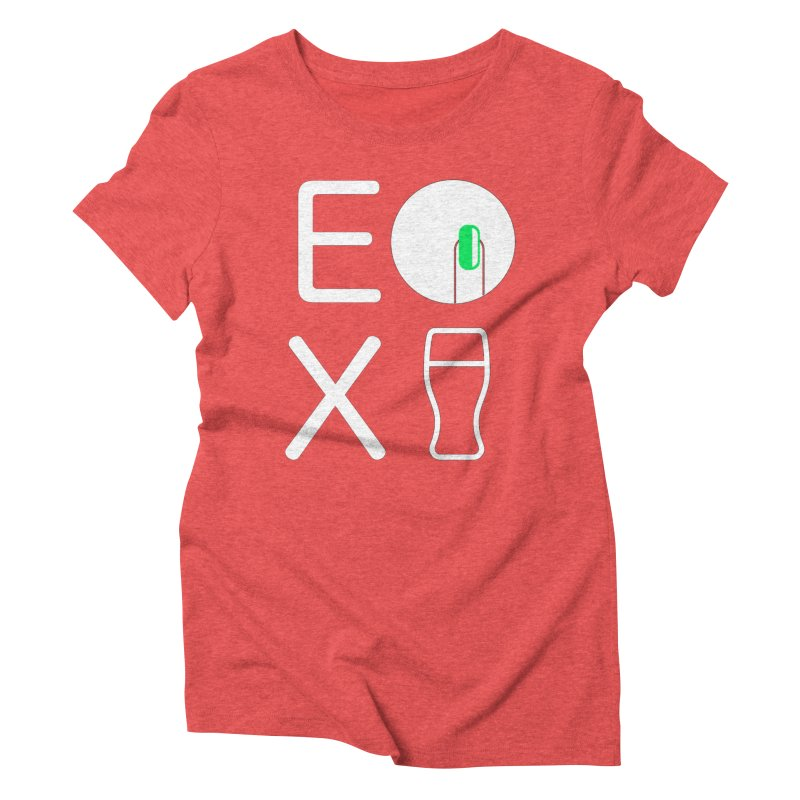 EX YOGINI Women's Triblend T-Shirt by Piccolo Cafe